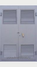 Двупольная дверь в электрощитовую