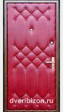 Дутая стальная дверь (кремлевка)