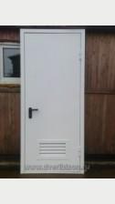 Однопольная дверь в электрощитовую