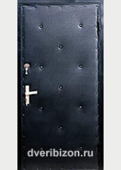 Стальная дверь дутая (11 пуговиц)