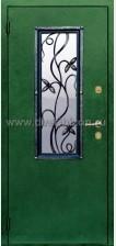 Стальная дверь с ковкой ДК 2